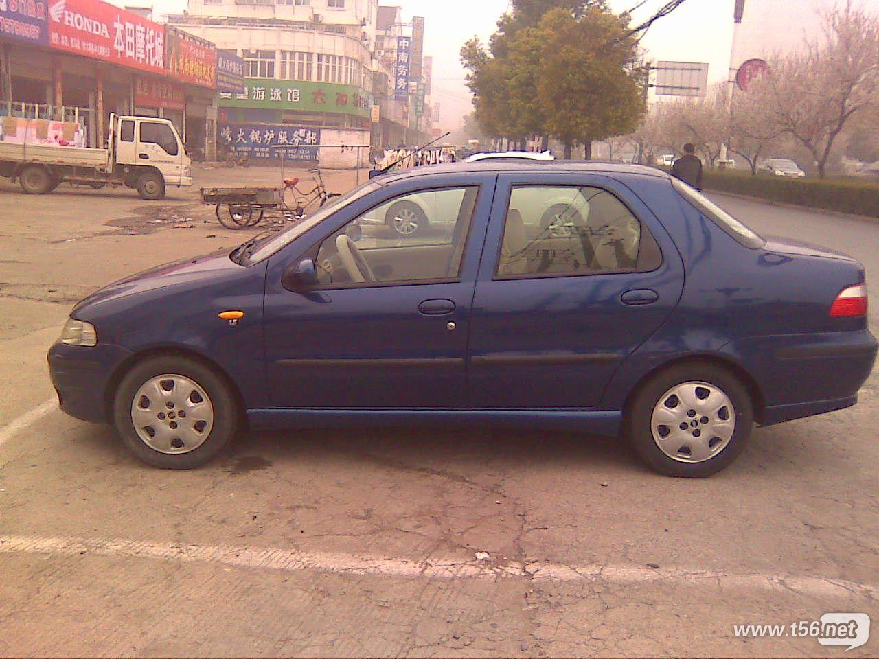04年私家三厢菲亚特2.38万转让 二手车交易高清图片