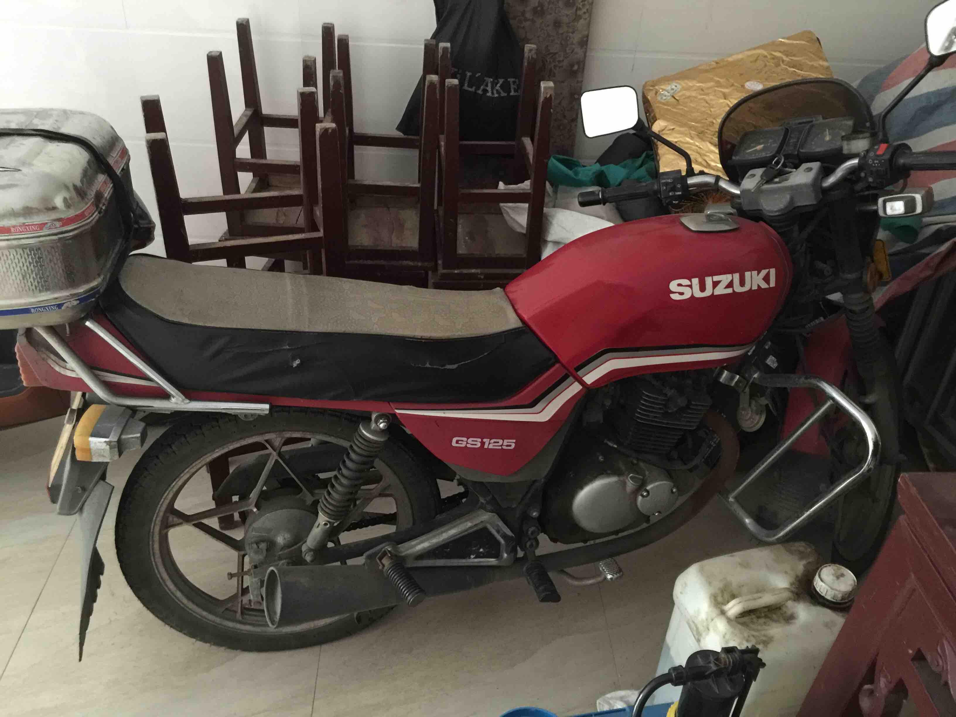 卖一辆 林木王 摩托车